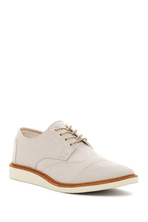 nordstrom s sneakers toms brogue lace up shoe nordstrom rack
