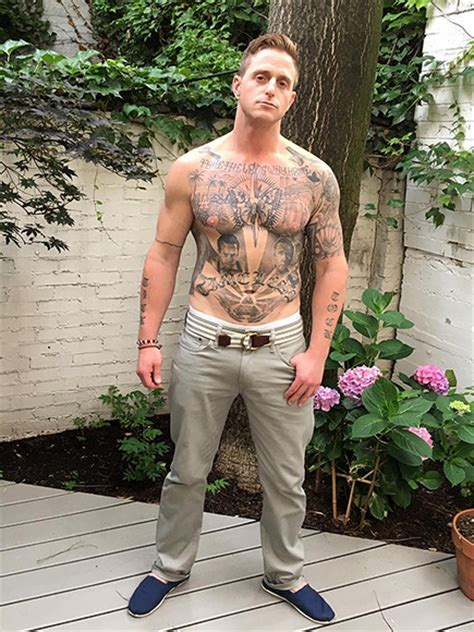 cameron douglas shows off tattoos amp new body after prison