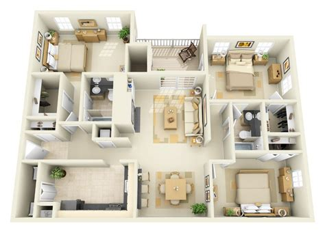 3 room apartment floor plans for arcadian apartments in silver spring md