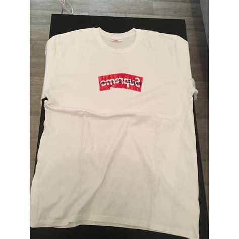 t shirt supreme t shirts supreme 4 xl wei 223 vendu par lucas 485 6854710