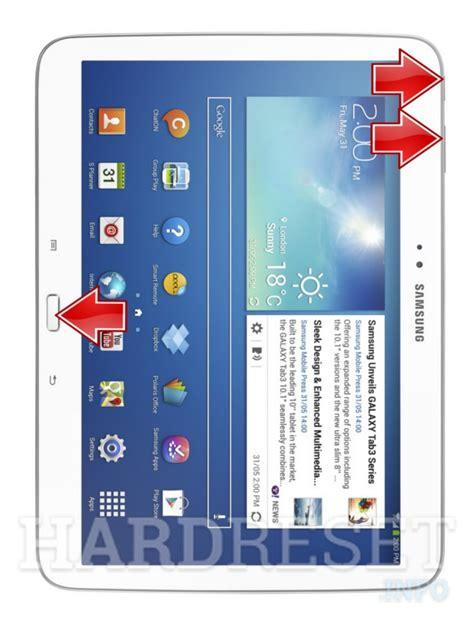 Second Samsung Tab 3 Wifi samsung p5210 galaxy tab 3 10 1 wifi how to reset my phone hardreset info