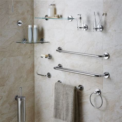 Bathroom Accessories Bathroom Fittings Fixtures Diy Wall Mounted Bathroom Accessories Sets