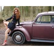 Car Girls  VW Bug Redhead John Hill Flickr