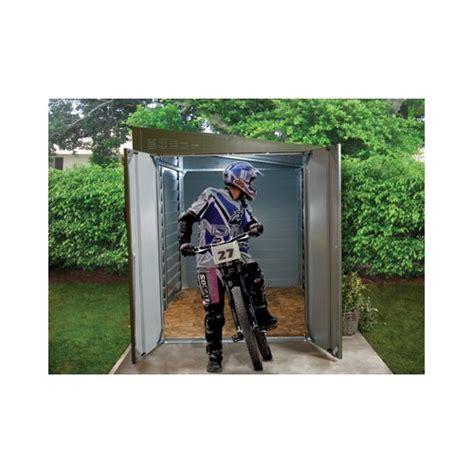 abri moto jardin garage moto l abri 2 roues id 233 al en m 233 tal anti vol