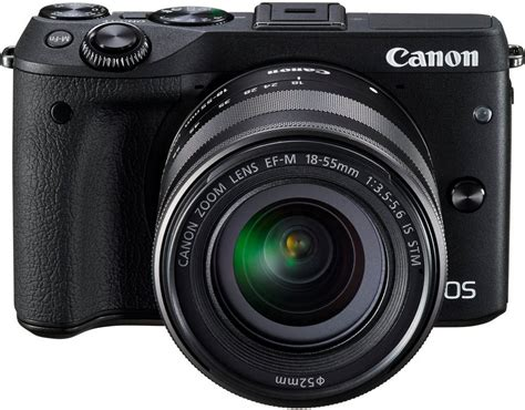 Kamera Canon Eos M3 Kit canon eos m3 kit system kamera ef m 18 55mm 1 3 5 5 6 is