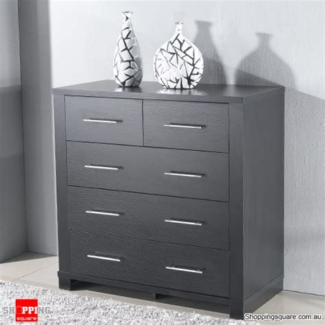 dark brown tall chest of drawers tall boy cabinet chest of 5 drawers storage dark brown