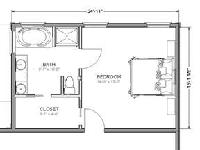 Bed Floor Plan by Home Addition Plans On Master Suite Addition
