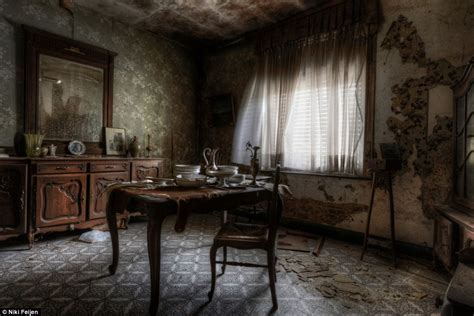room dust photographer niki feijen s eerie images of the abandoned farm houses daily mail