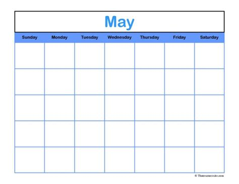printable unmarked calendar calendars part 2
