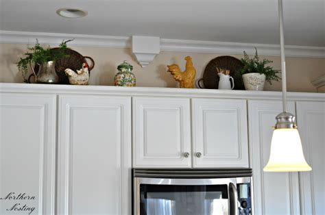 how to decorate on top of kitchen cabinets how to decorate top kitchen cabinet for spring best home
