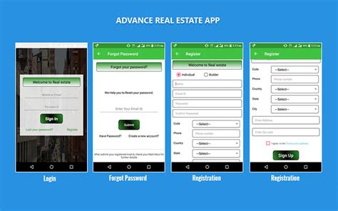realtor app android real estate android application real estate apps for android