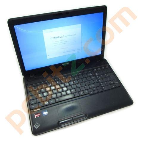 toshiba satellite pro c660d amd e 450 1 65ghz 4gb 250gb windows 7 15 6 quot laptop refurbished laptops
