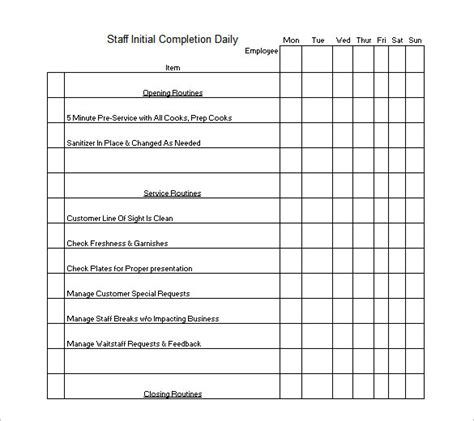 Cleaning Schedule Template 12 Free Sle Exle Format Download Free Premium Templates Monthly Cleaning Schedule Template Excel