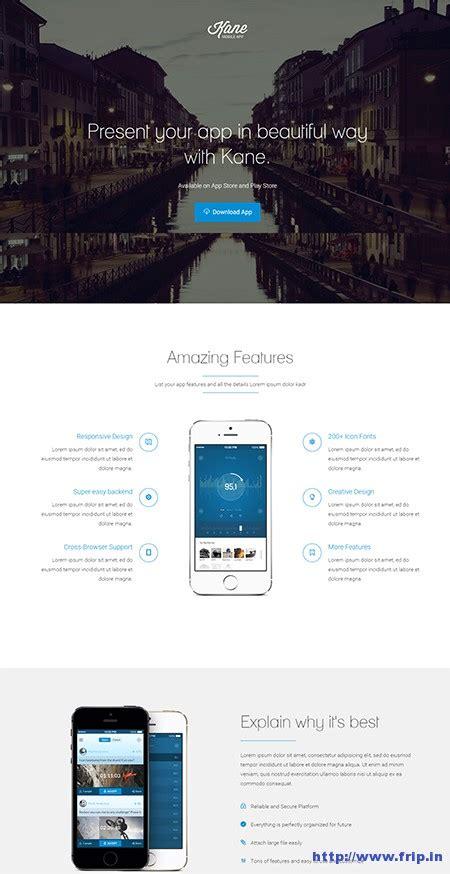 joomla landing page template 9 best responsive joomla app templates 2015 frip in