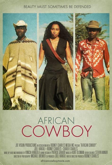 short film cowboy african cowboy extra large movie poster image internet