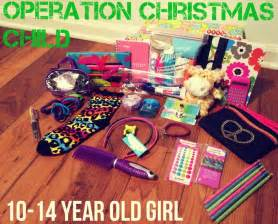 ideas for a 10 14 year old girl shoebox schools supplies