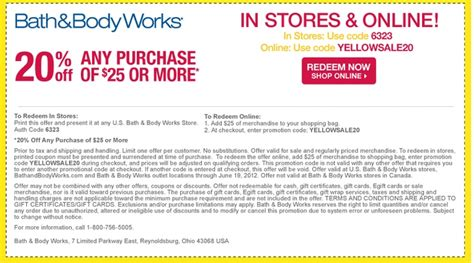bed bath body works coupon bath body works coupons printable store grcom info