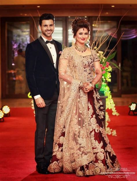 vivek dahiya favourite colour steal the look divyanka tripathi s bridal looks decoded