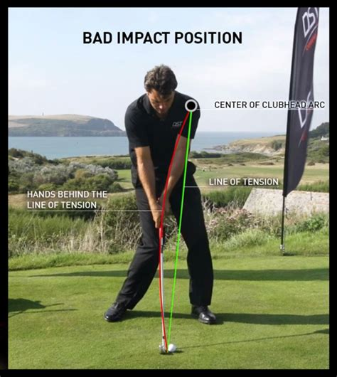 golf swing impact position the secret of golf dst golf dst golf