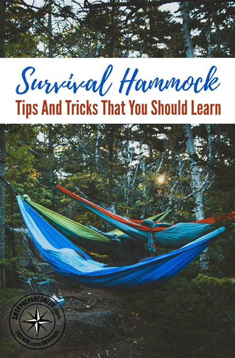 Hammock Tips survival hammock tips and tricks that you should learn