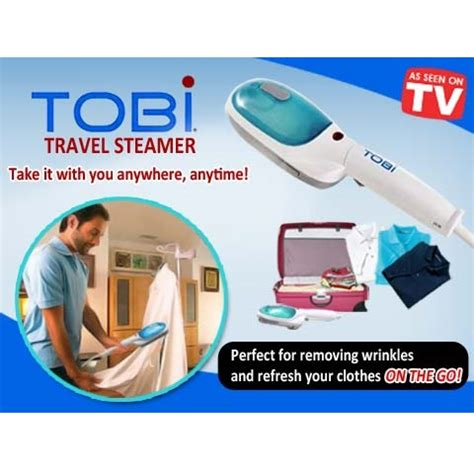 Setrika Steam Uap tobi steam brush iron garment streamer setrika uap white jakartanotebook