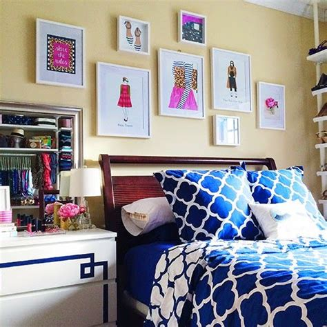 preppy bedrooms bedroom gallery wall pb bedding preppy printshop prints etsy and ikea frames and