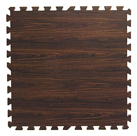 Interlocking Wood Floor by Oak Interlocking Wood Floor Mats Faux Wood Grain