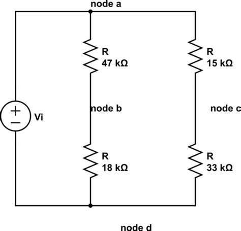 resistor equivalent circuit resistor equivalent circuits 28 images homework 4 basic electrical circuit 1 ppt find the