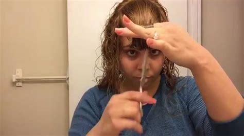 como cortar pelo a capas como cortar el cabello rizado en capas