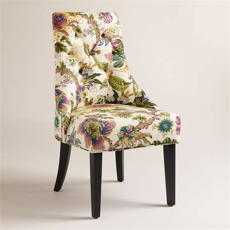 grape garrison floral lydia dining chairs set of 2