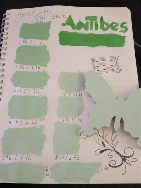 mixing sloan s antibes green white paent antibes green green and paint