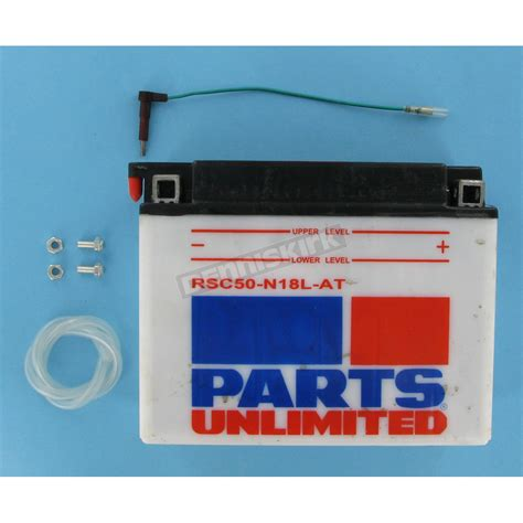 parts unlimited heavy duty 12 volt battery w sensor