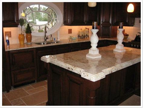 Colonial Countertop by Colonial Gold Granite Denver Shower Doors Denver