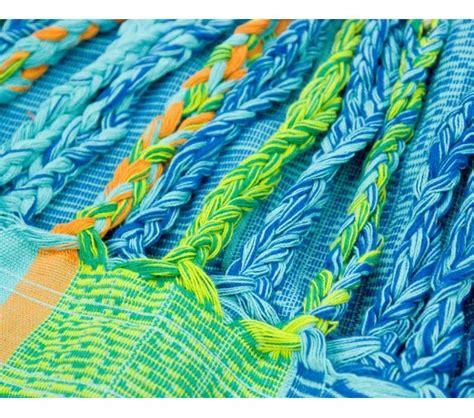 Hamac Bio by Hamac Familial Bio Flora Bleu La Siesta