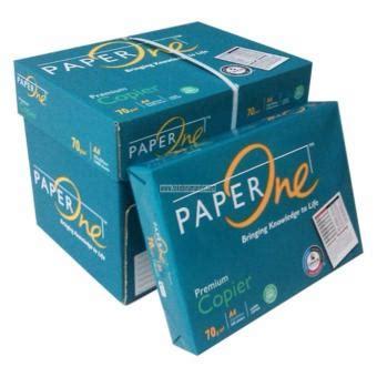 Kertas Hvs 70gr A4 Paper One kertas hvs polos a4 70 gr merk paperone bagus dan murah
