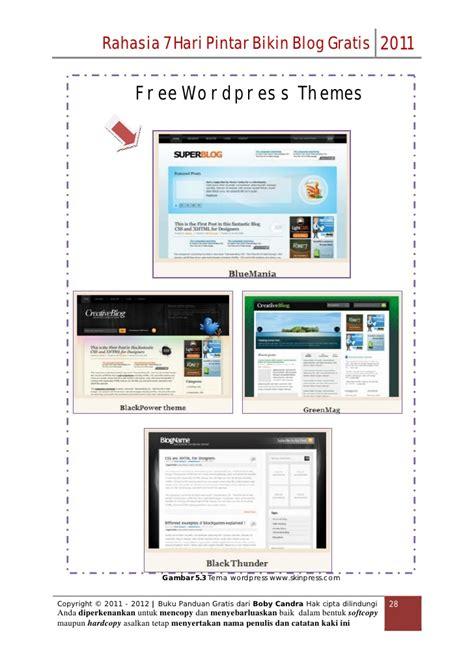 cara membuat blog wordpress ramai pengunjung cara membuat blog gratis by boby candra www carapemula