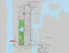 New York Marathon Course Map by Myrome Club 521 Web Server Is Down