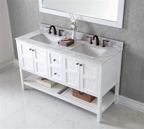 bathroom vanity 60 inch double sink avola 60 inch transitional double sink bathroom vanity