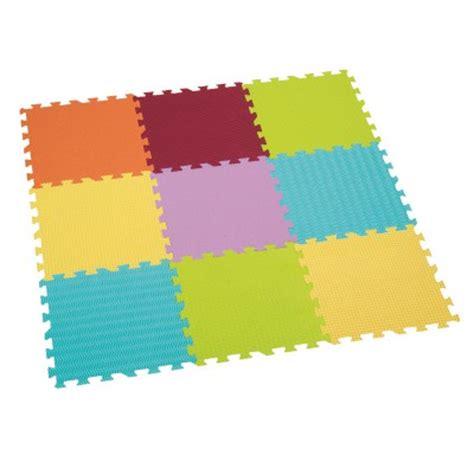 mousse tapis dalles en mousse tapis uni ludi le lutin