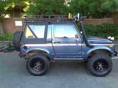 Suzuki Wrecker Buy Used 1987 Suzuki Samurai Jx A Hunters Come