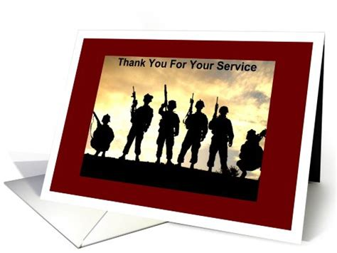 happy veterans day to army soldier free greeting card template thanks for service card 457423