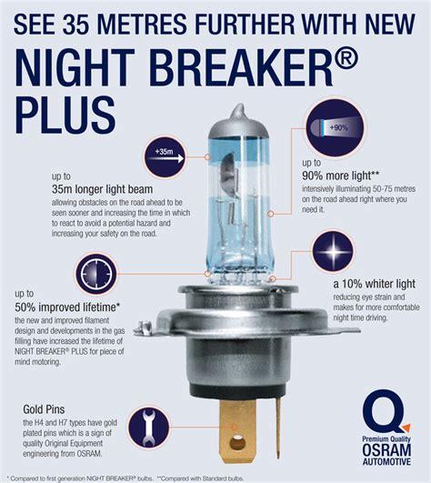 Lu Osram H3 Nbr Unlimited Nbu 12v 55w Berkualitas Oxh3nbu h4 osram breaker unlimited headlight bulbs pack 4000k ebay