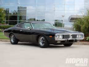 1973 dodge charger recharging a new generation rod