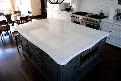 White Princess Quartzite Countertops by Kitchen In Princess White Quartzite