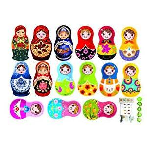 Russian Doll Wall Stickers Russian Doll Wall Stickers Home Decor Decals Art Childrens
