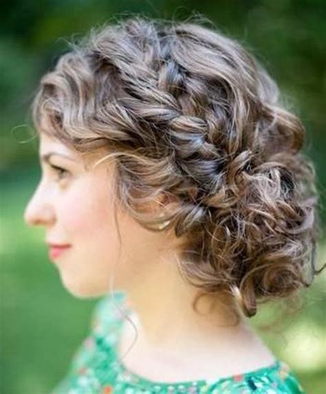 updo curly hairstyles 25 inspirational medium curly hairstyles for every day