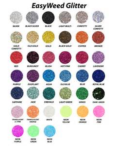 siser easyweed color chart new siser easyweed glitter heat transfer vinyl 20 quot x 1yd