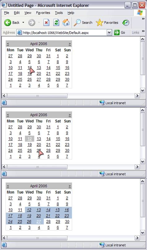 printable calendar range calendar date range picker calendar template 2016