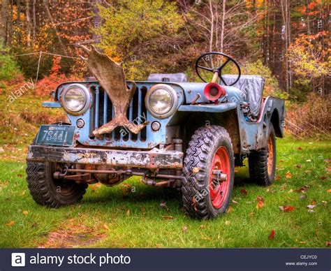 vintage jeep a vintage jeep awaits a task at a historic and