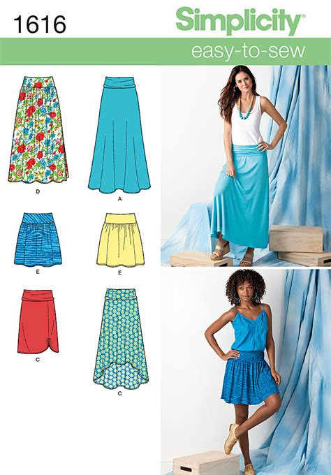 simplicity pattern website simplicity 1616 misses skirts
